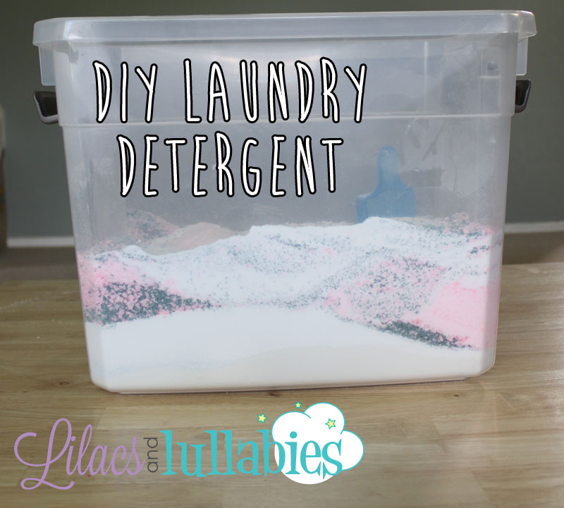 DIY Laundry Detergent Safe for Regular and HE Washers! Leaves clothes, clean, fresh and saves you money!